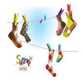Socks on a rope