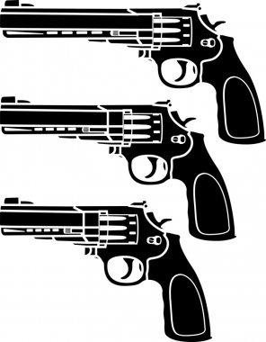 Set of pistols