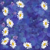 absztrakt background vele virág