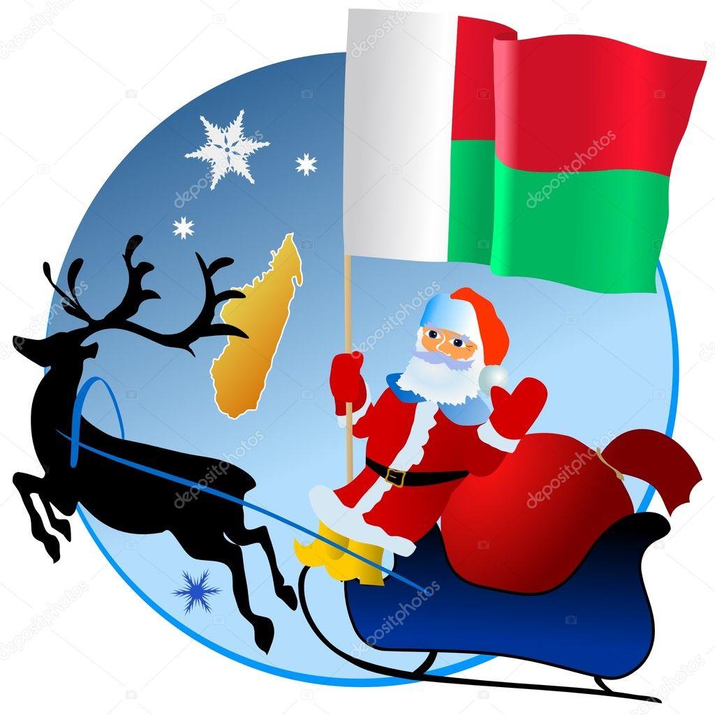 Buon Natale Madagascar.Buon Natale Madagascar Vettoriali Stock C Perysty 4186305