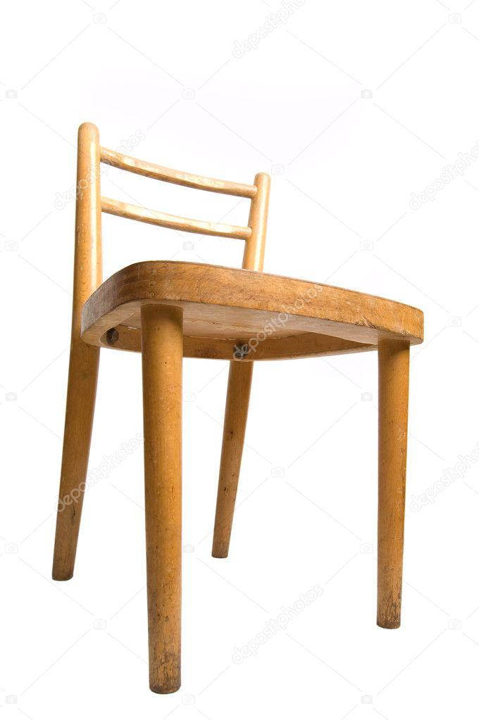 Ouderwetse Houten Kinderstoel.Oude Kinderstoel Stockfoto C Ravenestling 5101463