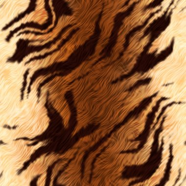Abstract seamless tiger skin
