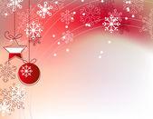 Vánoční červené pozadí