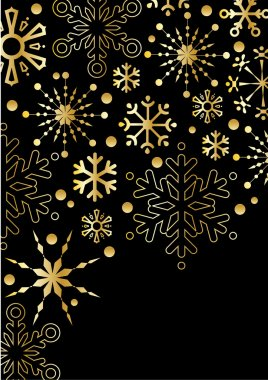 Background with New Year decoration.