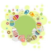 Fényképek Húsvéti üdvözlőlap tojással