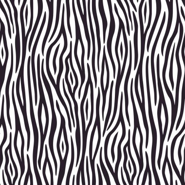 Seamless background with zebra skin pattern