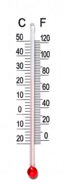 Thermometer scale