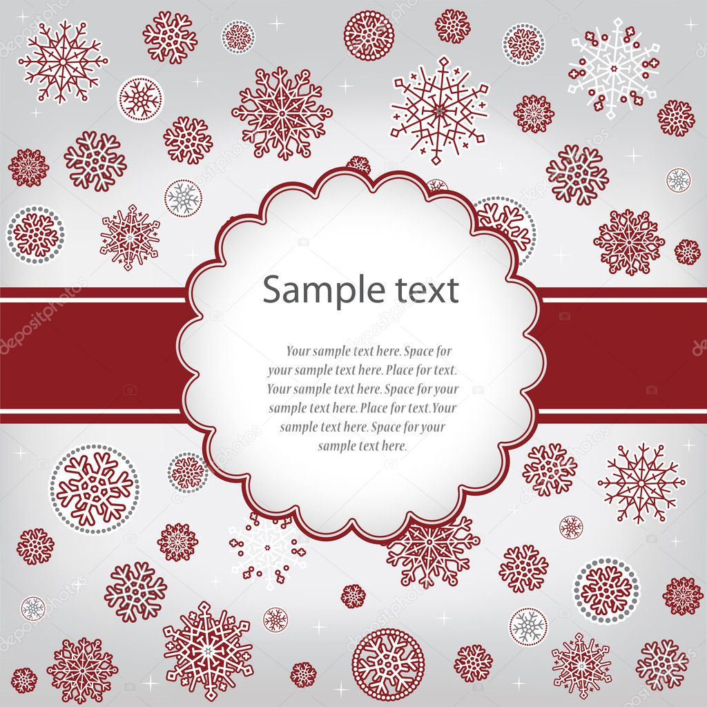 gratulationer till jul Template design gratulationer jul eller nyår kort — Stock Vektor  gratulationer till jul