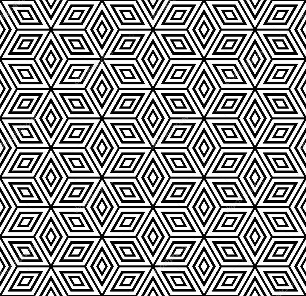 Seamless Geometric Pattern Stock Vector Troyka 5324096