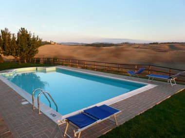 Pool in Tuscany