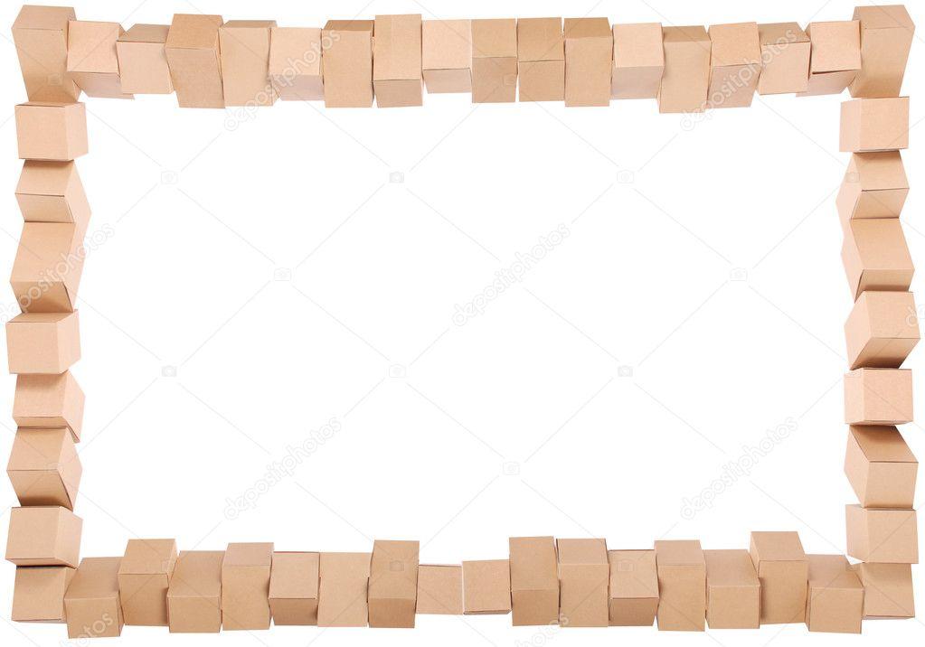 Rahmen aus der kombinierten Boxen — Stockfoto © akova777 #4540330