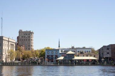 Riverwalk in Downtown Wilmington, NC