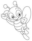přehledem včela