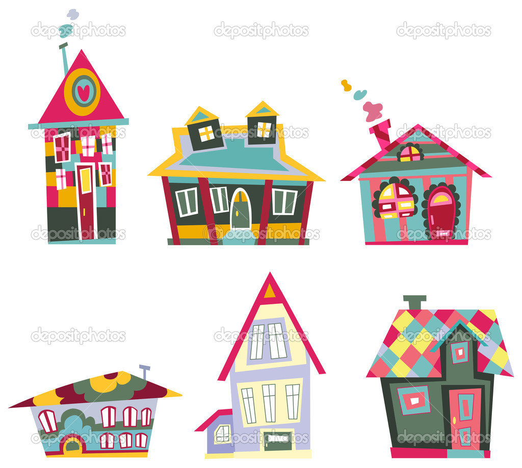 Decorative houses