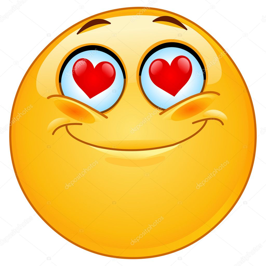 In love emoticon