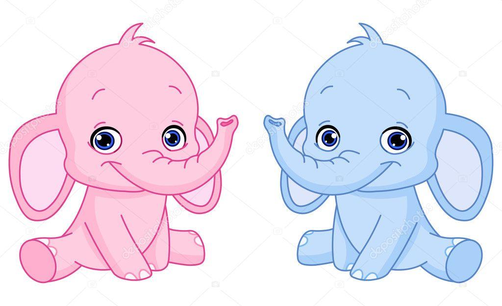 Fotos elefantes bebes animados elefantes beb vector - Fotos de elefantes bebes ...