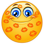 Fotografie Kissed emoticon