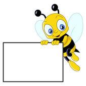Fotografia ape carino con segno