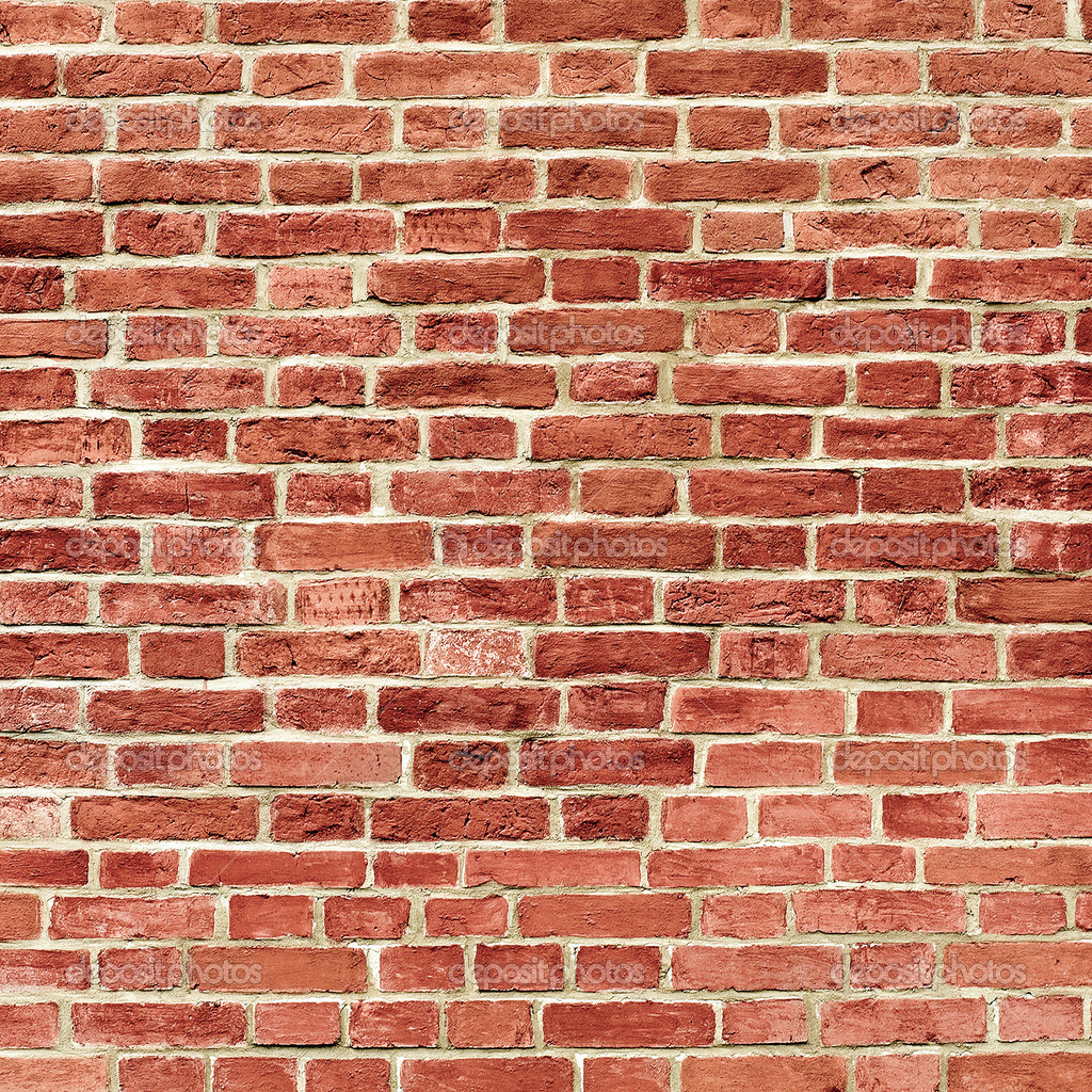 Wall: Background Of Brick Wall Texture