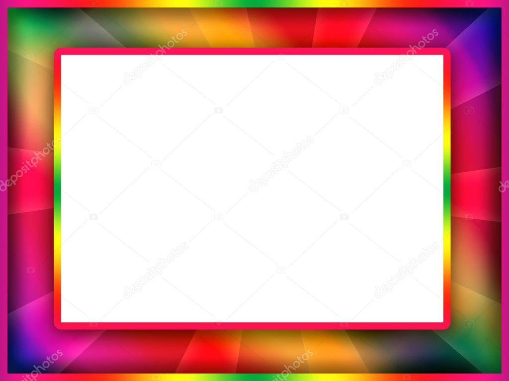 bunten Rahmen — Stockfoto © Skovoroda #4755180