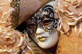 typische bunte Maske aus dem venezianischen Karneval