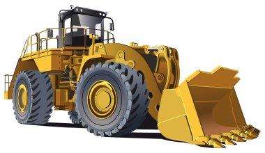 Large wheel loader