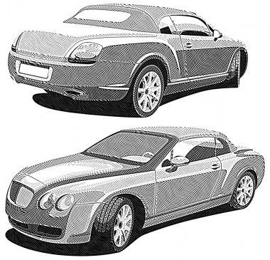 Luxury car_engraving