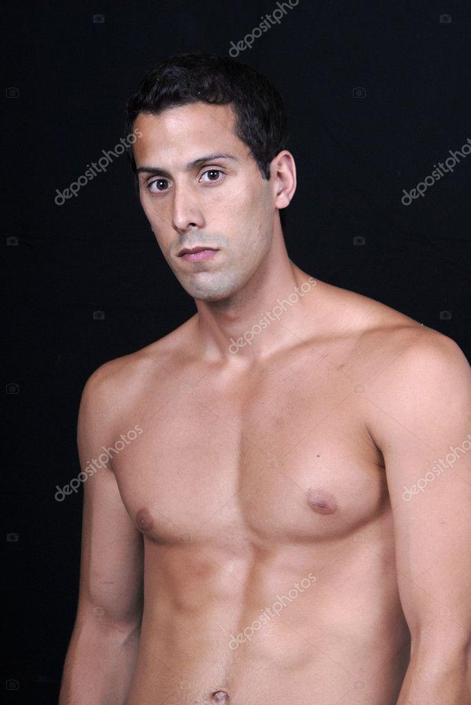 Nero nudo modello