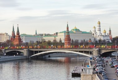 City Moscow, kind on Kremlin