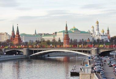 City Moscow, kind on Kremlin
