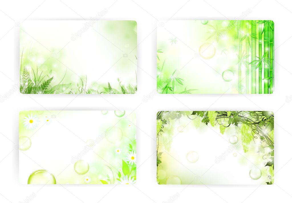 Card templates