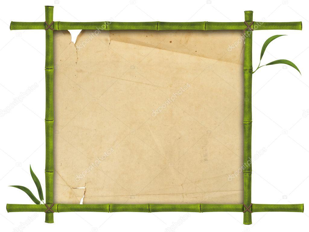 Bambus-Rahmen — Stockfoto © S_Razvodovskij #5225896