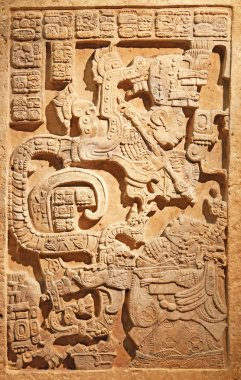 Old mexican relief