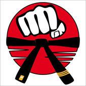 Fényképek simbols harcművészetek. logó
