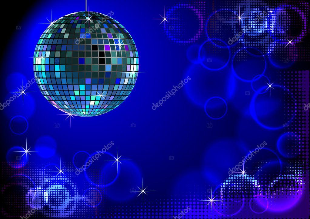 fond disco bleu � image vectorielle surovtseva 169 5356096