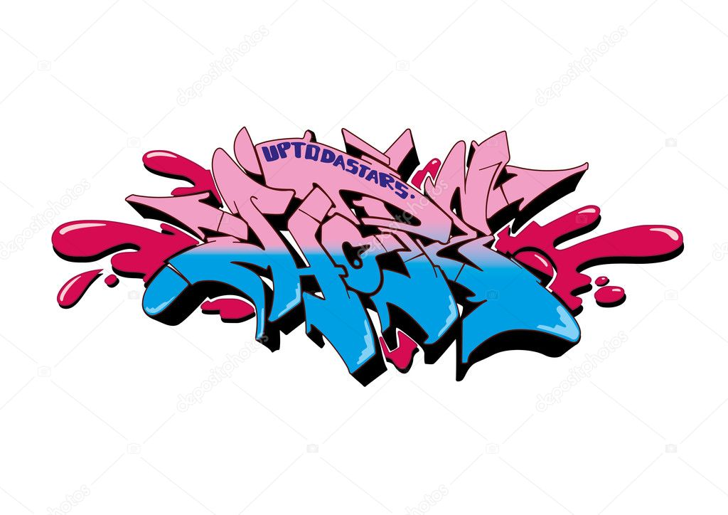 Graffiti Hope Stock Vector Limbi007 4853972