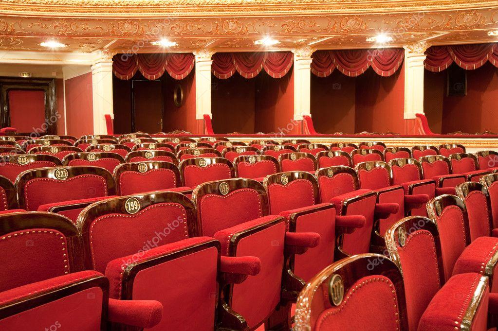 Интерьер оперного театра, одесса, украина; фото 1033395, фот.