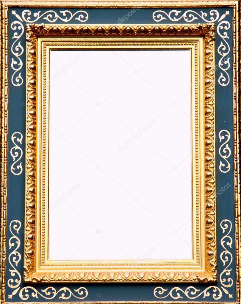 antikes gold Bilderrahmen — Stockfoto © Farina6000 #4176505
