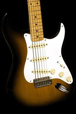 Electric Guitar on Black