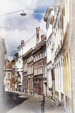 Streets of Ghent, Belgium