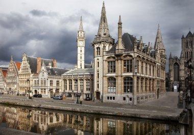 """Картина, постер, плакат, фотообои """"гент, бельгия """", артикул 4151248"""