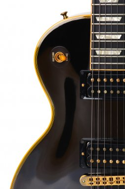 Electric guitar close-up - musical background