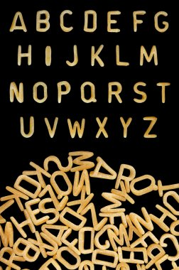 Kids pasta font