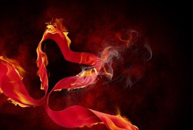 yanan şerit
