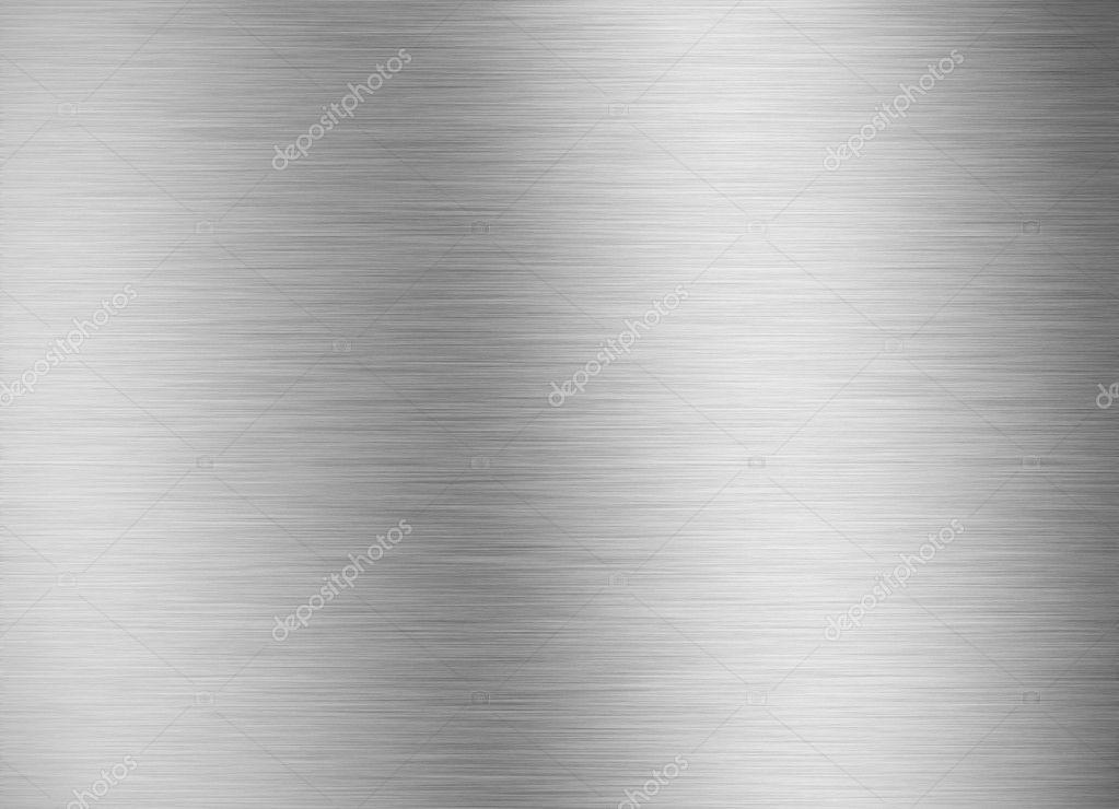 Brushed silver metallic background