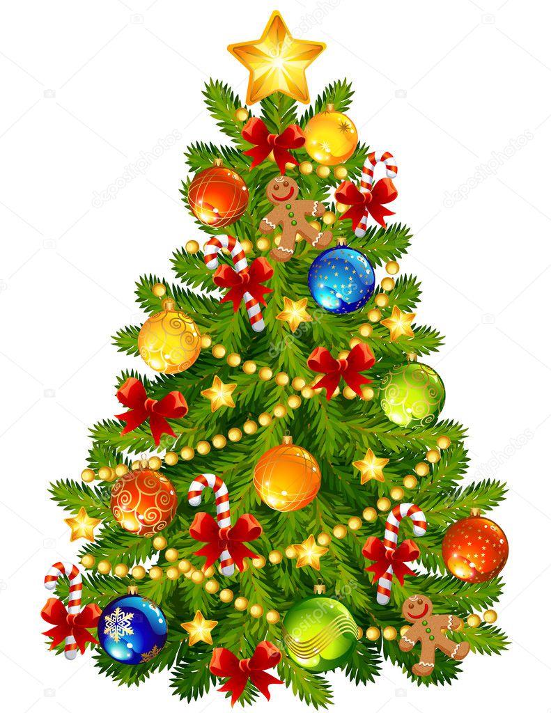 Vánoční stromeček Stock vektory, Royalty Free Vánoční stromeček Ilustrace |  Depositphotos®