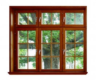 Oak for the wooden window
