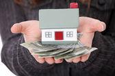 koncept úvěr nemovitostí