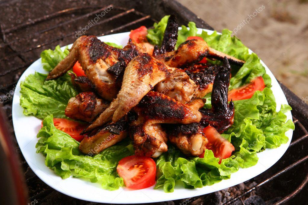 Fresh grill bbq chicken