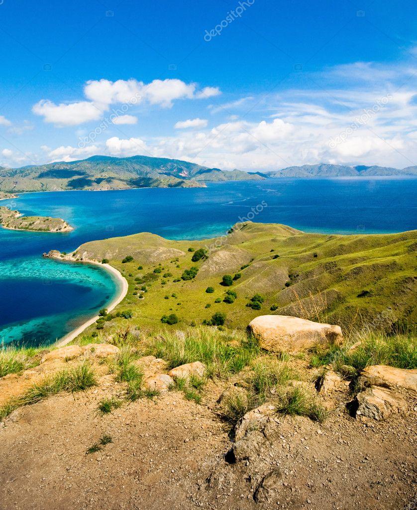 Tropical landscape Indonesia